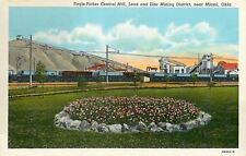 Miami OK~Eagle Picher Central Mill~Lead, Zinc Mining District~Flower Bed 1920s