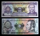HONDURAS. Lote billetes 2 y 5 Lempiras (2010) S/C - UNC Banknotes set