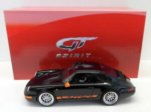GT Spirit 1/18 Scale Resin - GT137 Porsche 911 964 Carrera RS Black