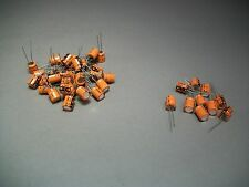 Mixed Lot of 85 Vishay Sprague Capacitor 100uF 16V / 33uF 35V - Craft Jewelry