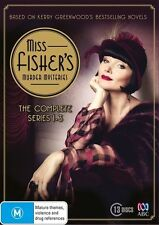 Miss Fisher's Murder Mysteries : Series 1-3 (DVD, 2015, 13-Disc Set)