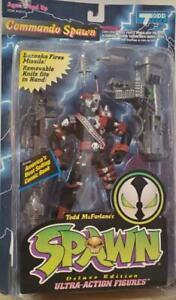 Spawn COMMANDO SPAWN Deluxe Edition Ultra Action Figure NEW 1995 McFarlane Toys