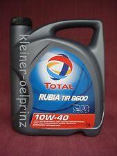 Total rubia TIR 8600 10W-40 teilsynth. Olio motore / MB 228.5/MAN 3277 5L