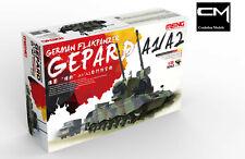 Meng Model TS-030 German Flakpanzer Gepard A1/A2 1/35 Model Kit