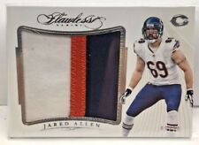 Jared Allen 2015 Panini FLAWLESS Jumbo Patches 3 color GU Patch #'d 6/20 - BEARS
