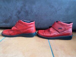 Fabulous JOSEF SEIBEL Size AU 8 EU 39 Red Ankle Boots SO COMFY!