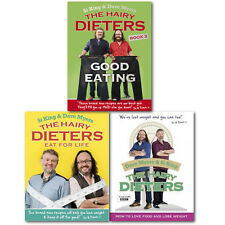 The Hairy Dieters 3 Books Collection Set, Lose Weight Good Eating For Life,