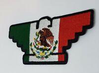 Huelga bird Mexicano Chicano Biker Flag  patch