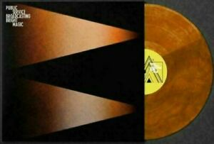 Public Service Broadcasting - Bright Magic - Limited Orange Coloured Vinyl LP