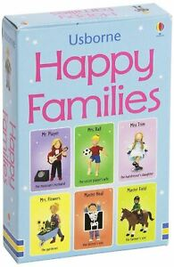 Usborne Snap Cards - Happy Families Card Game