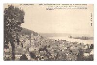 caudebec-en-caux panorama sur la vallée de la seine  (a0116)