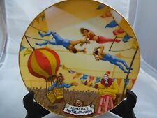 Aerialists Ringling Bros. & Barnum & Bailey Circus Collector Plate #1432A
