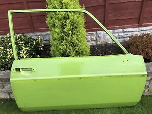 Ford Mk2 Escort 2 Door Off Side Door Cash On Collection Castleford W,Yorkshire