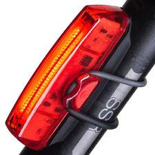 LED Rücklicht Fahrradlicht Rot mit Befestigungssatz Aufladbar Wasserdicht Lampe