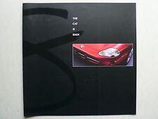 Prospekt - Jaguar XK8 Coupe und Cabriolet, 1996, 8 Seiten, folder, 30x30 cm groß
