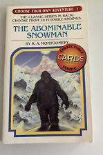 The Abominable Snowman #1 Choose Your Own Adventure R A Montgomery Cyoa 2005