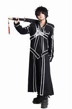 Sword Art Online Kazuto Kirigaya Kirito Cosplay Costume pre made