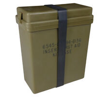 Plastic Box for USGI First Aid Kit Insert Olive Drab Mil Spec IFAK Container