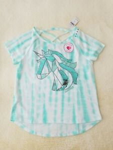 *NEW* JUSTICE GIRLS SIZE 8 10 12 I/'M SO MAGICAL RACCOON UNICORN FLIP SEQUIN TOP