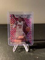 2019-20 Panini Mosaic Pink Camo Prizm Kendrick Nunn RC NBA Debut HEAT Card#268