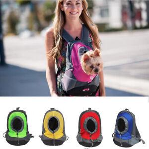 Pet Dog Puppy Cat Travel Backpack Rucksack Auto Carrier Bag Handbag UK