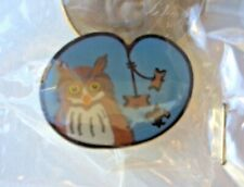 Woodbadge OWL Patrol Totem with beads Hat/Lapel Pin BSA Wood Badge
