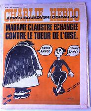 "Charlie Hebdo N°319 du 23/12/1976; ""Madame Claustre échangée"" Wolinski"