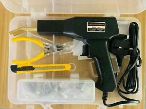 Car Bumper Hot Stapler Machine Handy Plastic Welder Garage Repair Welding Tool