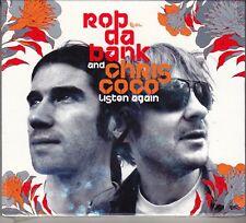 2 CD ♫ Audio Box Set ROB DA BANK AND CHRIS COCO ~ LISTEN AGAIN nuovo sigillato