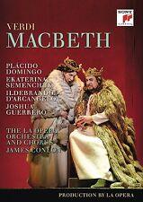 MACBETH Placido Domingo Ekaterina Semenchuk DVD in Italiano NEW .cp
