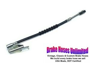 FRONT RIGHT BRAKE HOSE Ford Galaxie 500, 1969 1970 1971 1972 - Front Disc