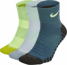 Nike Everyday Max Cushioned MULTI COLOR Socks 3 PACK SX5549-955 Men's Size 8-12