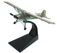New 1/72 WWII Poland Air Force Fi-156 Storch Light Reconnaissance Aircraft Model