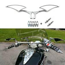 Chrome Motorcycle Rearview Mirrors For Harley Davidson Street Glide Road King FO