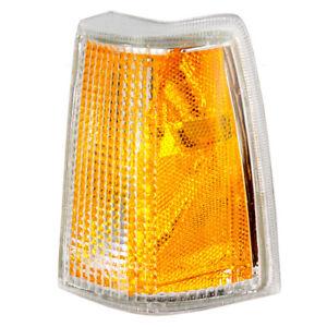 Side Marker Light fits Volvo 740 760 Driver Corner Signal Marker Lamp Amber Lens