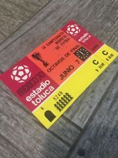 WOW VERY RARE SOCCER WORLD CUP TICKET MEXICO 1970 ISRAEL VS SWEDEN ORIGINAL