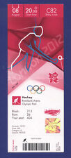 Orig.Ticket  Olympic Games LONDON 2012 - HOCKEY  1/2 Final   ENGLAND - ARGENTINA