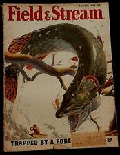 Field & Stream Magazine August 1954