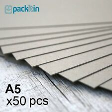 A5 Backing Boards - 50 sheets 700gsm - chipboard boxboard cardboard recycled