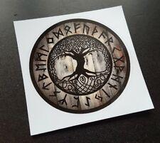 Viking Yggdrasil Tree of Life, Rune Sticker / Decal, Norse, Odin, Pagan, Thor