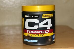 Cellucor C4 Ripped Sport 30 Servings Pre-Workout Artic Snow Cone 8.7oz Exp. 2/23