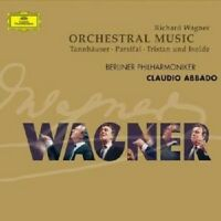 "CLAUDIO ABBADO ""WAGNER: ORCHESTERMUSIK"" CD NEW+"
