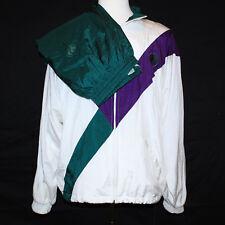 Gorgeous Wimbledon England Lawn Tennis & Croquet Club Track Jacket / Pants Sz Xl