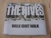 The Hives:  Walk Idiot Walk   CD Single     NM