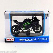 Maisto 1/18 Kawasaki Ninja H2R Metal Diecast Autobike Motor Toy Special Edition