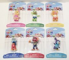 Disney Junior Muppet Babies Complete Set Lot of 6. New