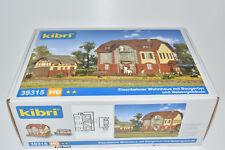 Kibri H0 39315 / 9315 Eisenbahner- Wohnhaus mit Nebengebäude, Bausatz NEU in OVP