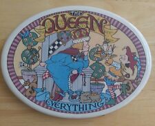 Mary Engelbreit Queen of Everything Wall or Shelf Plaque Ceramic Vintage Oval