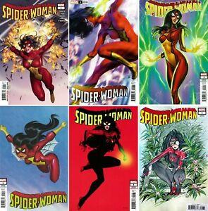 Spider-Woman #1 (Variant / Yoon / JS Campbell / Momoko / 2020 / NM) MULTI-LIST