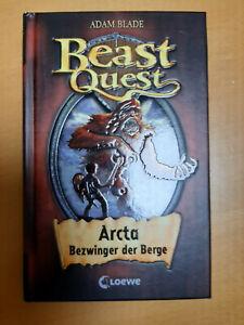 Beast Quest -  Arcta Bezwinger der Berge   ---   Adam Blade